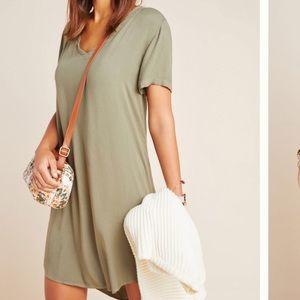 CLOTH & STONE l Anthropologie V-neck Dress NWOT